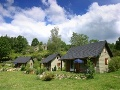 Auvergne in mountain chalet Champs/Tarentaine Auvergne France
